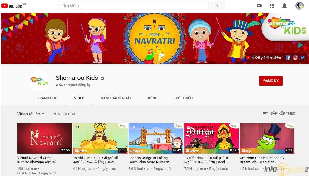 website học tiếng Anh cho bé tốt nhất