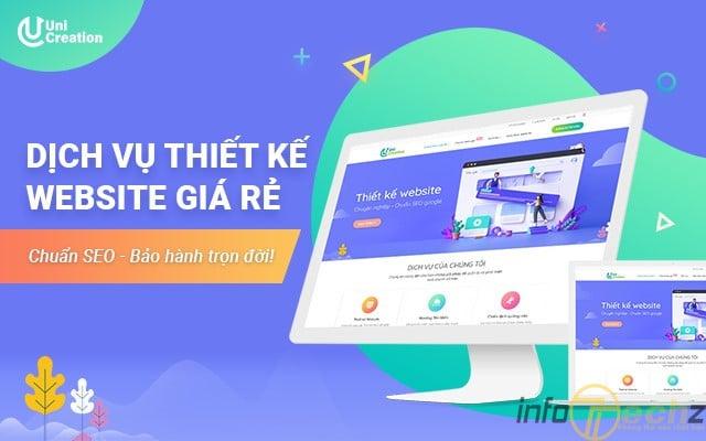 Dịch vụ thiết kế website ở Hà Nội