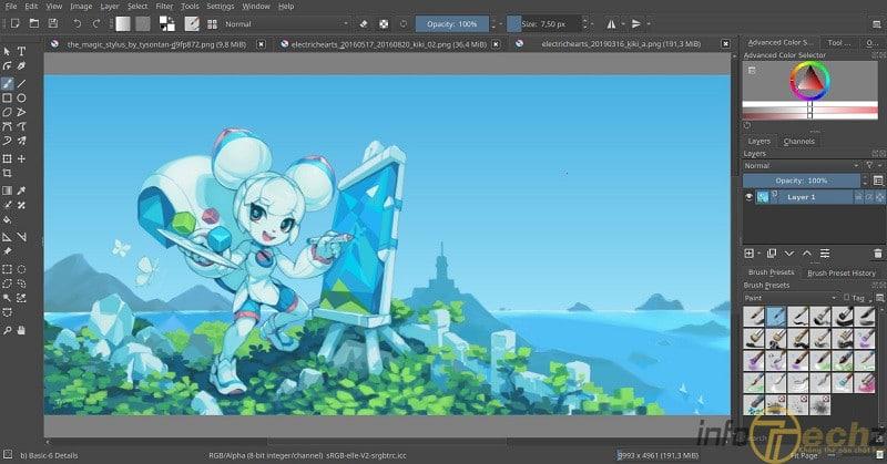 5 phần mềm vẽ anime trên máy tính tốt nhất