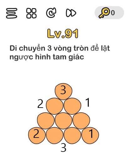 đáp án brain out 91