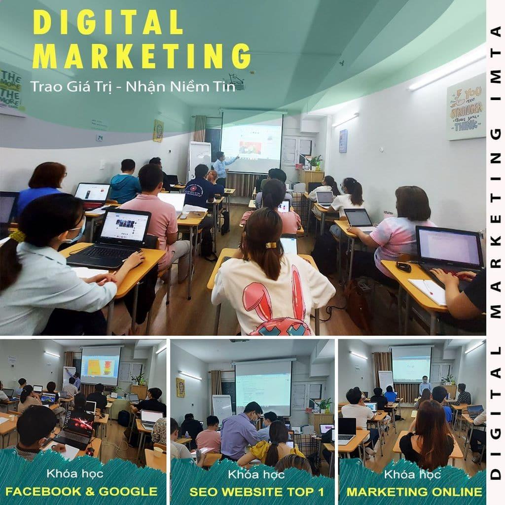 Khóa học Digital Marketing từ cơ bản đến nâng cao hỗ trợ kinh doanh